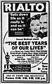 1948 - Rialto Theater Ad - 9 Oct MC - Allentown PA.jpg