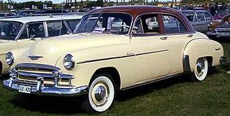 Chevrolet Deluxe - 1950 Chevrolet Styleline De Luxe 4-Door Sedan