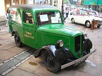 Jowett Bradford - Image: 1952Jowett Bradford Javelin Van