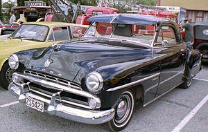 Dodge Wayfarer - 1952 Dodge Wayfarer business coupe