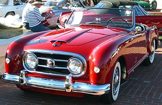 Nash-Healey - 1952 Nash-Healey roadster