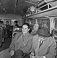 1958 visite d'une délégation INRA au Haras du Pin Cliché Jean Joseph Weber-18-1.jpg
