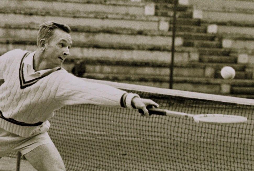 1962 Italian Open - Rod Laver
