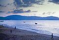 1969 - cuối đường băng phía nam, nơi cống (từ Evac 67) đổ ra biển. Đây là bãi biển được đề cập trong cuốn sách Chickenhawk Robert Maso (9680613476).jpg