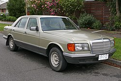 Mercedes Benz W126 Википедия