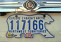 1986 Northwest Territories license plate 117166.jpg