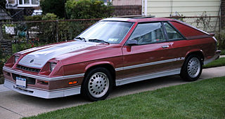 1987 Dodge Shelby Charger, fL.jpg