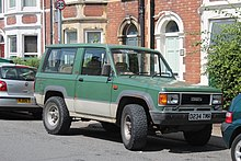 1987 isuzu trooper (united kingdom)