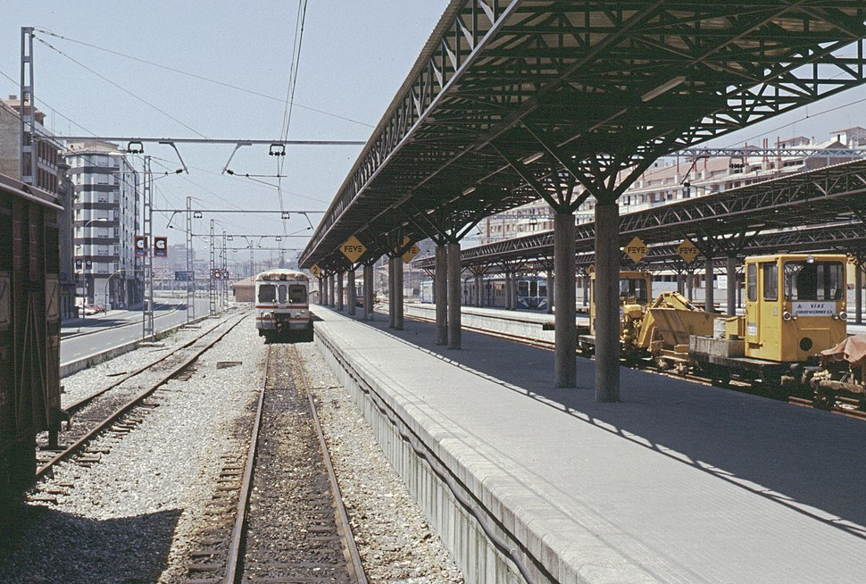 19880710b Estación de El Humedal Gijón