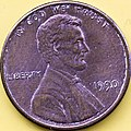 1990 US Penny Lincoln Head (5639471532).jpg