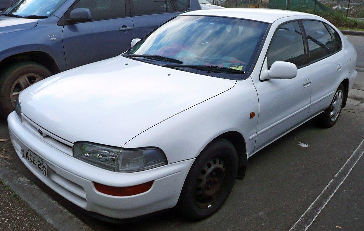 Toyota Corolla Le >> Toyota Sprinter — Wikipédia