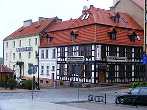 Kamień Pomorski - Local hotel located in the Old Town