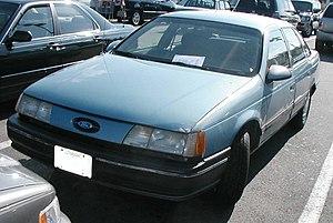 list of ford taurus models wikipedia rh en wikipedia org Ford Taurus Steering Wheel 2008 Ford Taurus