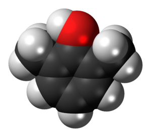 2,6-Xylenol - Image: 2,6 Xylenol 3D spacefill