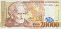 20,000 Armenian dram - 1999 (obverse).png