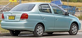 Toyota Platz - Facelift: Toyota Echo sedan (Australia)