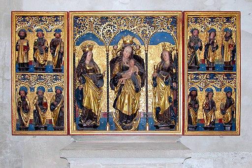20040503470DR Naumburg (Saale) Dom Marienretabel im Südquerhaus