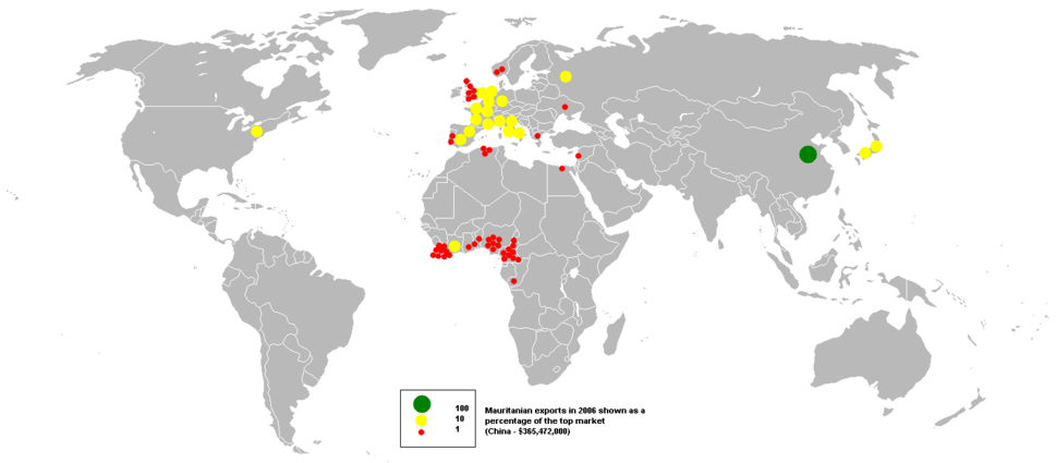 2006Mauritanian exports