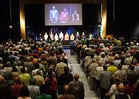 Roterdamo, 2008: La 93-a Universala Kongreso de Esperanto kun 1845 partoprenantoj.