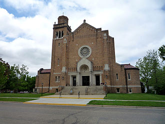 Chatfield, Minnesota - St. Mary's Catholic Church.