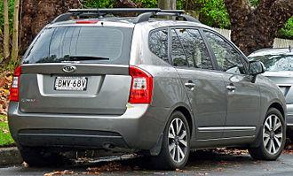 Kia Carens - Pre facelift Kia Rondo7 (Australia)