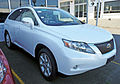 2009 Lexus RX 350 (GGL15R) Sports Luxury wagon 01.jpg