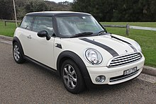 A 2009 Mini Cooper Hatch