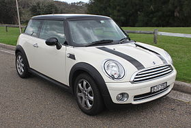 2009 Mini Hatch (R56) Cooper hatchback (26610582445).jpg