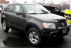 2009 Suzuki Grand Vitara photographed in Wheat...