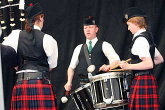 Tenor drum - Traditional pipe and band tenor drum