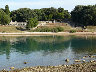 Brijuni - Remains of a Roman villa on Brijuni