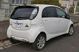 Mitsubishi i-MiEV - Mitsubishi i-MiEV hatchback (Australia)