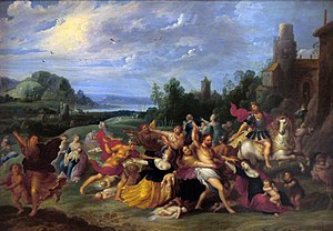 Hieronymus Francken II - The massacre of the innocent