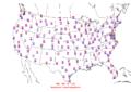 2011-09-11 Max-min Temperature Map NOAA.png