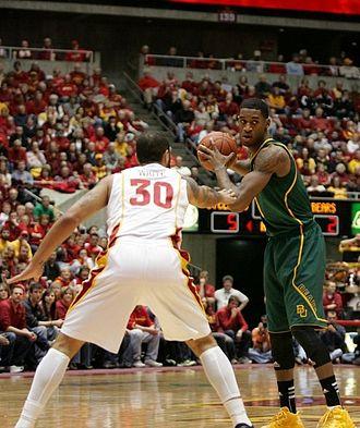 Perry Jones - Jones being defended by Royce White