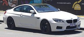 BMW M6 - BMW M6 (F13) Coupé
