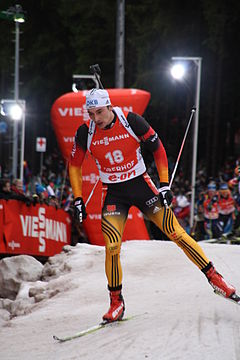 Christoph Stephan in Oberhof 2014