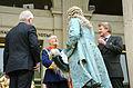 2014-05-01 Reise von Georg I. von Hannover nach London,(1224) Niedersächsischer Landtag, v.l. Bernd Busemann, Claus-Peter Enders, Wilhelm Lilje, Stephan Wetzel.JPG