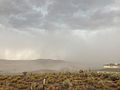 2014-07-20 15 00 52 Blowing dust along the outflow boundary of a thunderstorm in Elko, Nevada.JPG