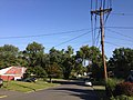 2014-08-30 08 29 33 View north along Terrace Boulevard from Glen Clair Drive in Ewing, New Jersey.JPG