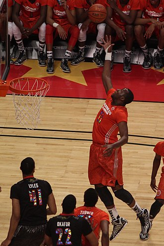 Cliff Alexander - Alexander in the 2014 McDonald's All-American Boys Game