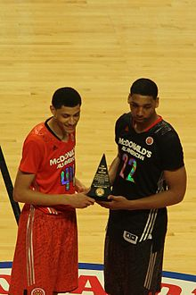 44be2f2c3600 2014 McDonald s All-American Boys Game - Wikipedia