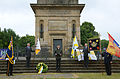 2015-06-20 200 Jahre Schlacht bei Waterloo, Welfenbund, The Royal British Legion, Hannover, Waterloosäule, (20).JPG