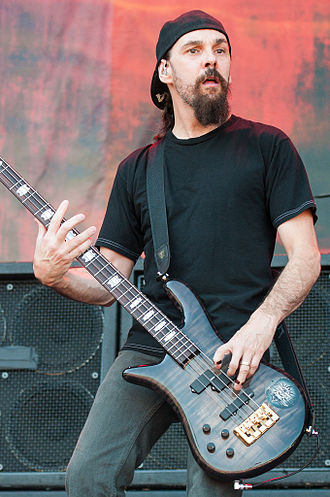 Robbie Merrill - Robbie Merrill performing live with Godsmack.