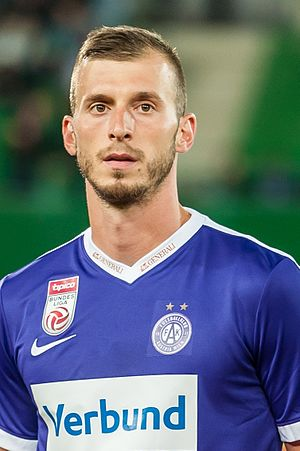 Petar Filipović - Image: 20160714 EL Austria vs Kukesi 1603