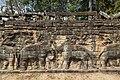 2016 Angkor, Angkor Thom, Taras Słoni (18).jpg