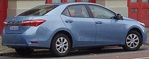 Toyota Corolla (E170) - Toyota Corolla Ascent sedan (Australia; pre-facelift)