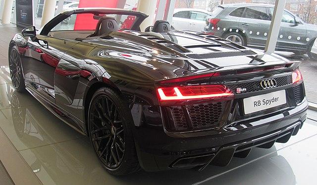 Audi R8 V10 Plus Spyder (4S)