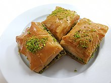 2018-04-28 Turkish baklava in Australian turkish cafe.jpg