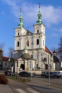church building in Kraków, Poland